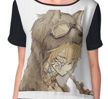 La fille aux loups Chiffon Top