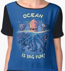 Joyful Kraken Chiffon Top