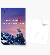 Wall-E Birthday Card Postcards