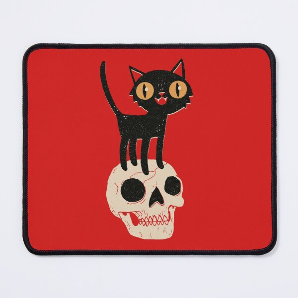 Look What The Cat Dragged In Mouse Pad