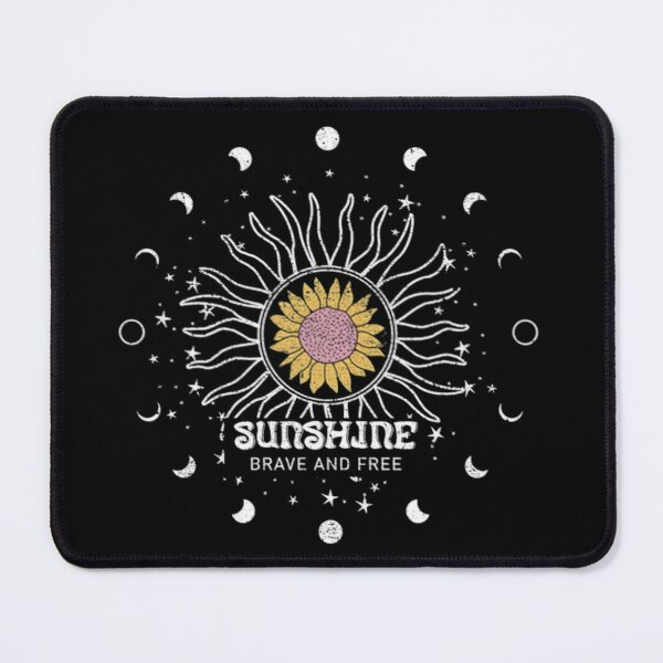 Celestial Sun and Moon Phases  Mouse Pad