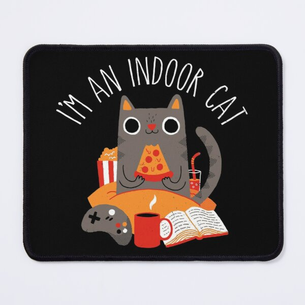 Indoor Cat Mouse Pad