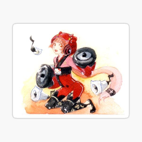 Nekomura Iroha Watercolor Sticker