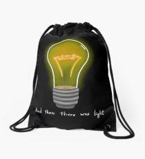 Maxwell Lightbulb Drawstring Bag