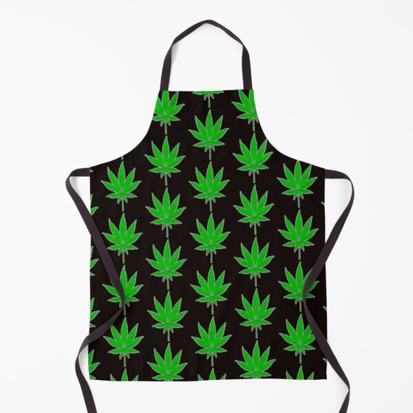 WEED PATTERN Apron