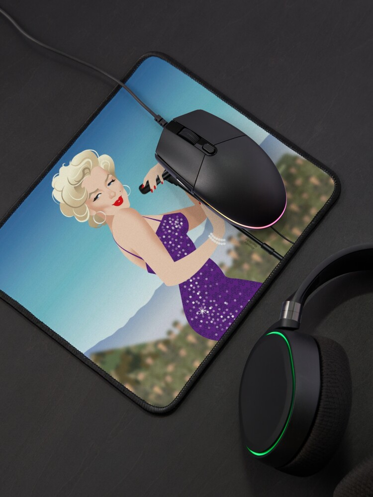 Alternate view of Troops Mouse Pad
