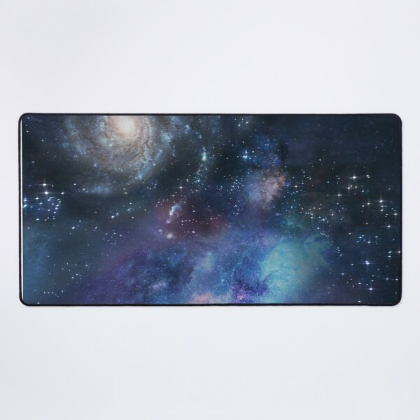 Space lights Spcae Scene Space colorful big pattern stars space cosmic Space Lights Desk Mat