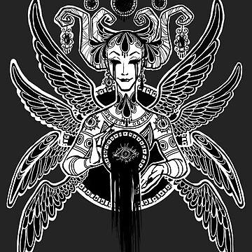 Winged Void by Razvan-Sedekiah