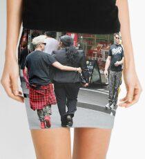 Saturday morning shoppers in Melbourne Mini Skirt