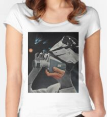 Photographer Women's Fitted Scoop T-Shirt