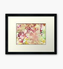 Colours Framed Print