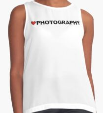 Love Photography Contrast Tank