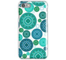 Tonga baskets - Blues iPhone Case/Skin