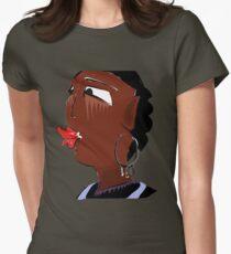Tribal femininity  Womens Fitted T-Shirt