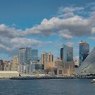 Harbour View of New York City Skyline by Gerda Grice