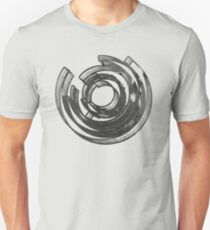 Abstract Maze Distressed Unisex T-Shirt
