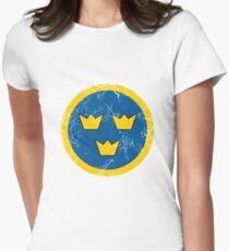 Military Roundels - Flygvapnet Swedish Air Force T-Shirt