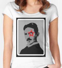 Tesla Rocks! Women's Fitted Scoop T-Shirt