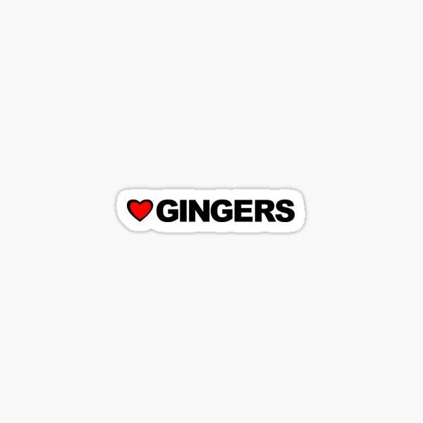 Love Gingers Sticker