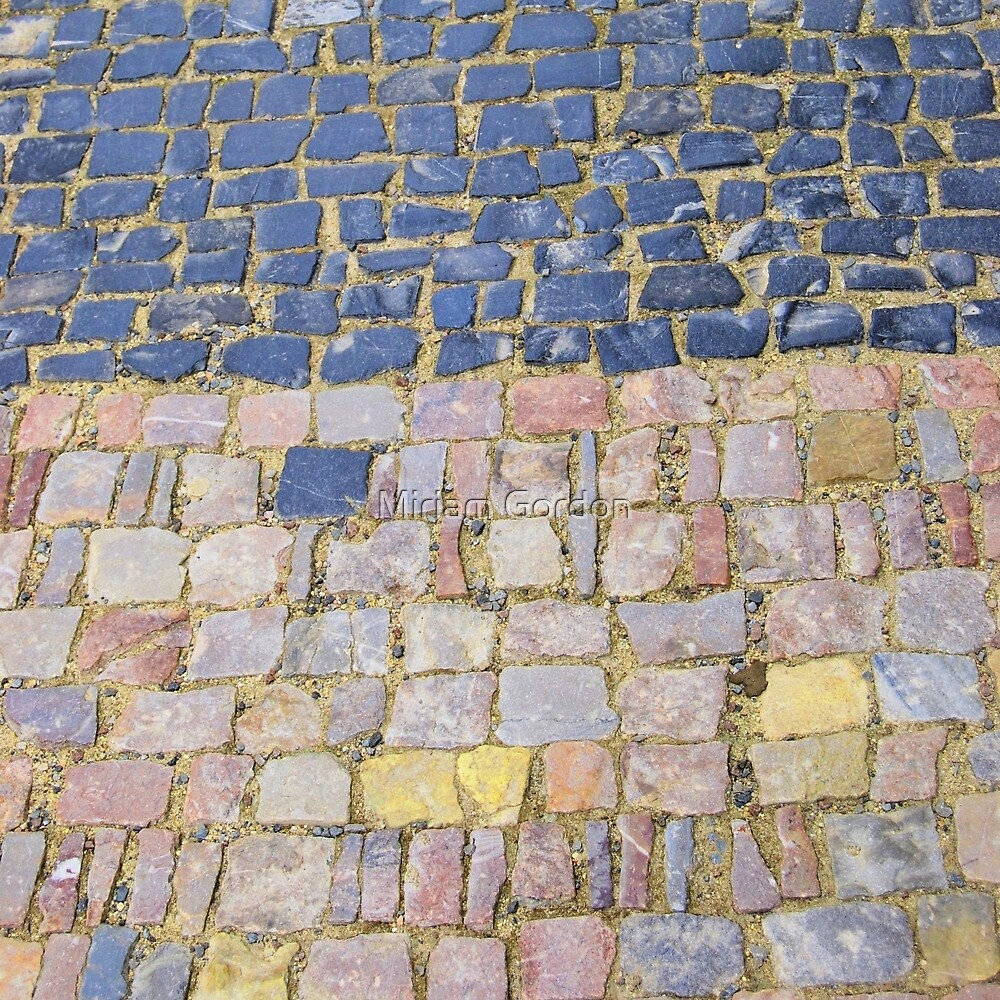 Cobblestone I by Miriam Gordon