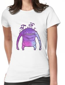 Pastel Goobbue Womens Fitted T-Shirt
