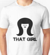 That Girl black Unisex T-Shirt
