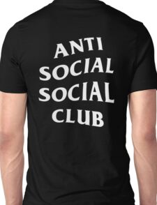 Anti social social club (ASSC) Unisex T-Shirt