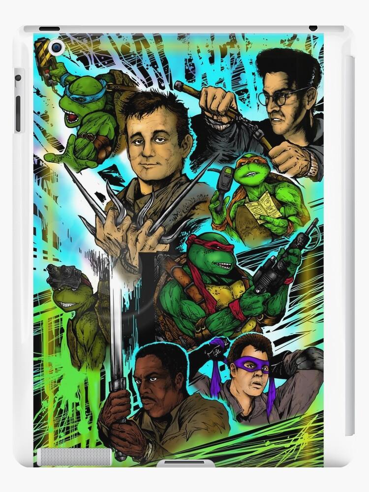 Teenage Mutant Ninja Turtles/Ghostbusters by shannonritchie