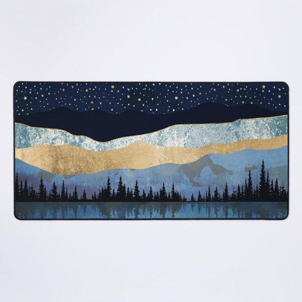 Midnight Lake Desk Mat