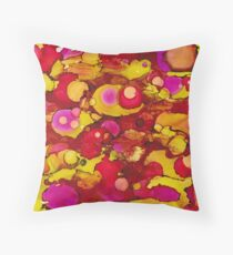 Inkwell.01 Throw Pillow