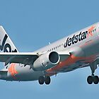Jetstar Airbus A320, Sydney Airport. by sunnypicsoz