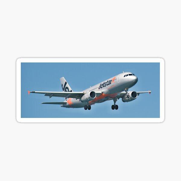 Jetstar Airbus A320, Sydney Airport. Sticker