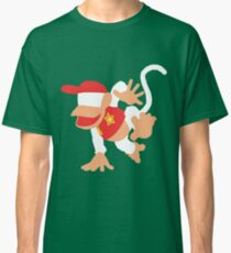 Diddy Kong Vector Classic T-Shirt