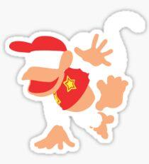 Diddy Kong Vector Sticker