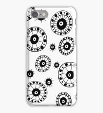 Black and White #4 iPhone Case/Skin