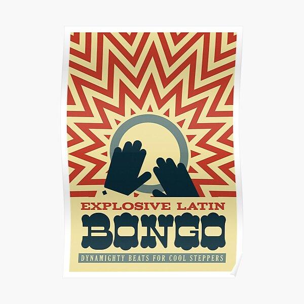 Vintage Bongo cat Poster