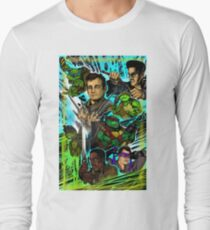 Teenage Mutant Ninja Turtles/Ghostbusters Long Sleeve T-Shirt