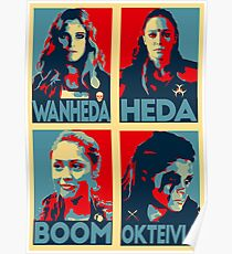 The 100 women Poster