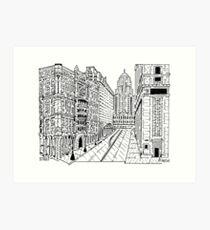 The Rookery Maze Art Print