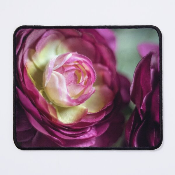 Silk Roses Mouse Pad