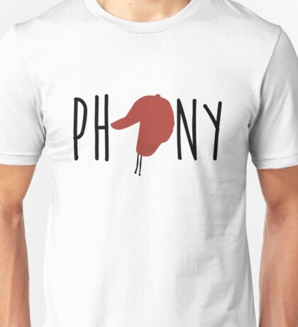 The Catcher in the Rye - Phony Unisex T-Shirt