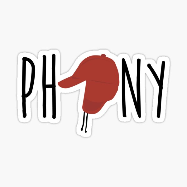 The Catcher in the Rye - Phony Sticker
