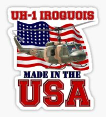 UH-1 Iroquois Made in the USA Sticker