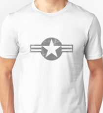 Military Roundels - United States Air Force - USAF Low Visibility Unisex T-Shirt