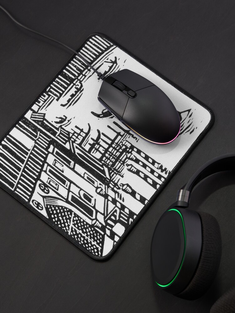 Alternate view of Venice Mouse Pad