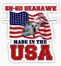 SH-60 SeaHawk Made in the USA Sticker