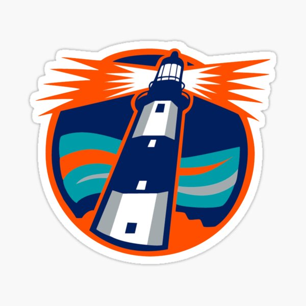 New York Islanders Lighthouse Logo Sticker