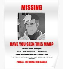 HAVE YOU SEEN THIS SHIRO? Poster