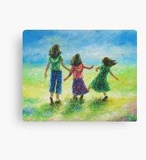 SUNSHINE SISTERS Canvas Print