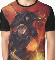 BBC Merlin: The Dragon Rises (cover) Graphic T-Shirt